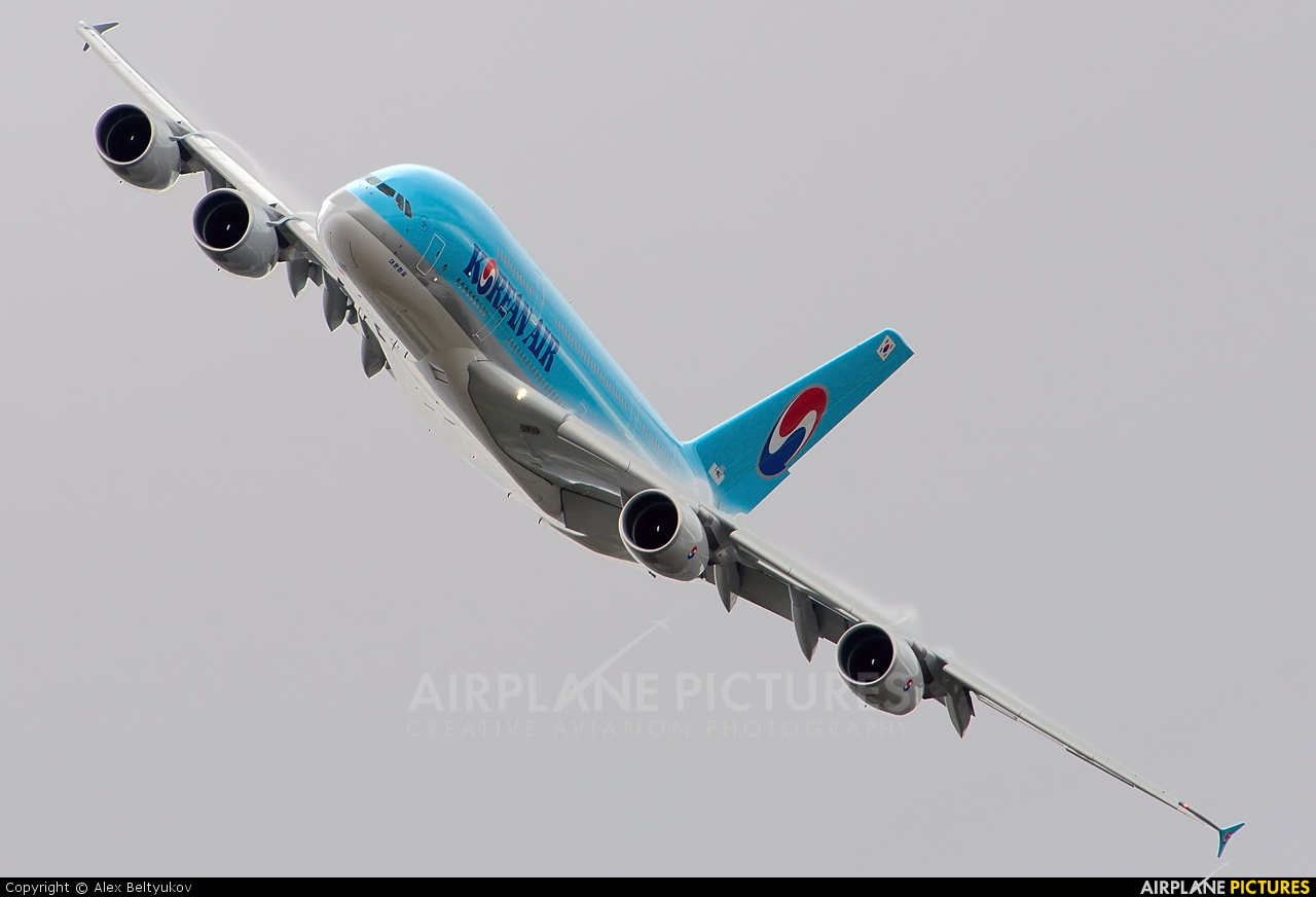 Korean Air F-WWAZ aircraft at Paris - Le Bourget
