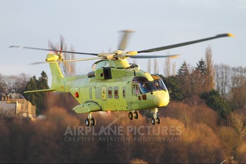 ZR336 - Turkmenistan - Government Agusta Westland AW101 643 Merlin (Turkmenistan)