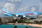 F-GTUI - Corsair Boeing 747-400 aircraft