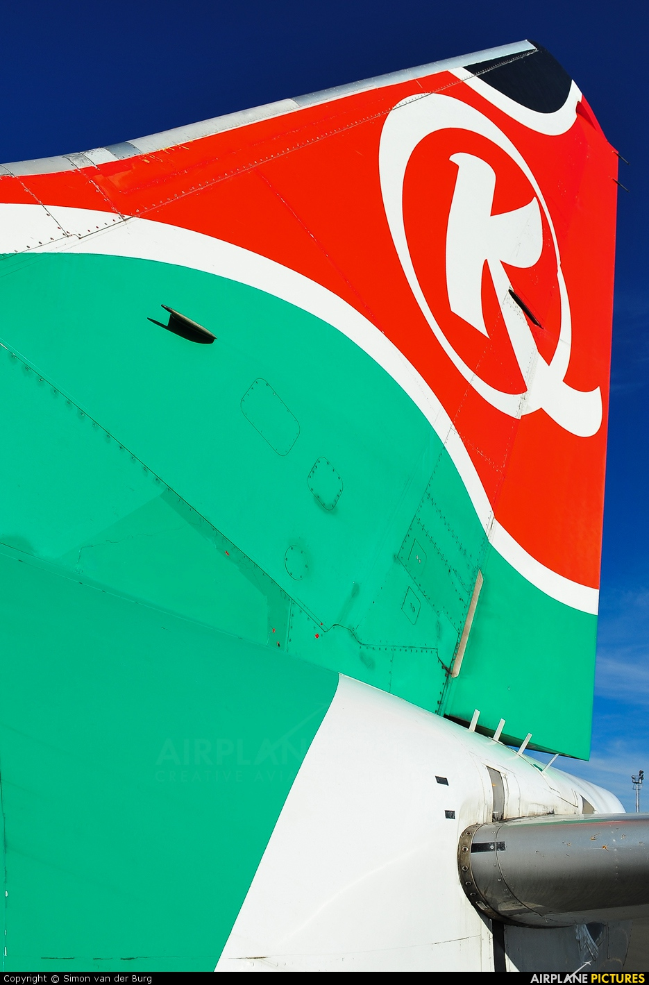 Kenya Airways 5Y-KQA aircraft at Nairobi - Jomo Kenyatta