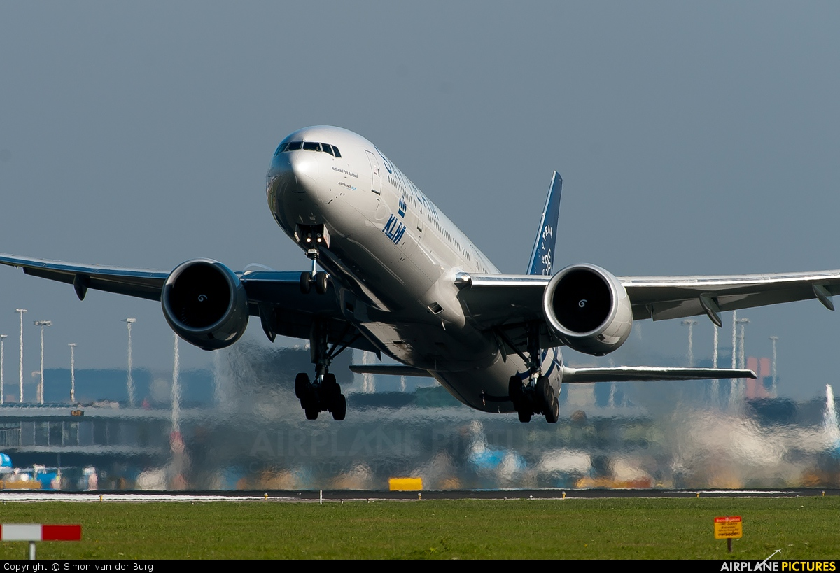 KLM PH-BVD aircraft at Amsterdam - Schiphol