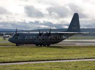 164997 - USA - Navy Lockheed C-130T Hercules
