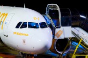 G-EZDJ - easyJet Airbus A319 aircraft