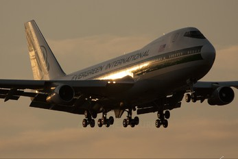 N470EV - Evergreen International Boeing 747-200