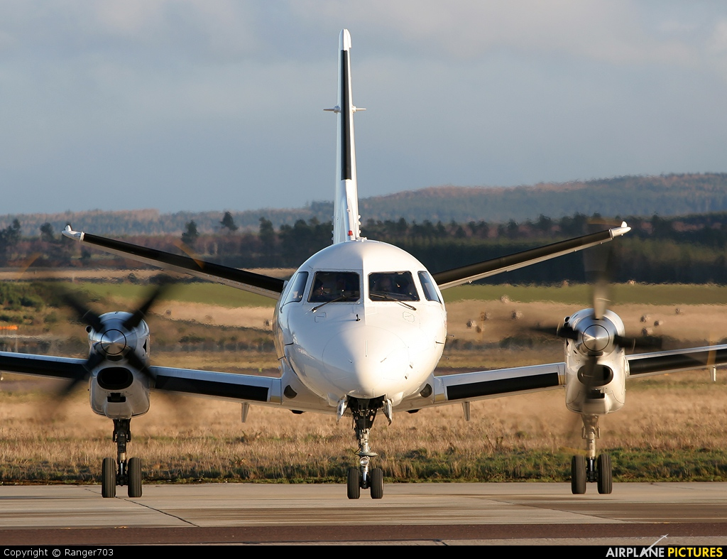 Loganair G-GNTB aircraft at Inverness