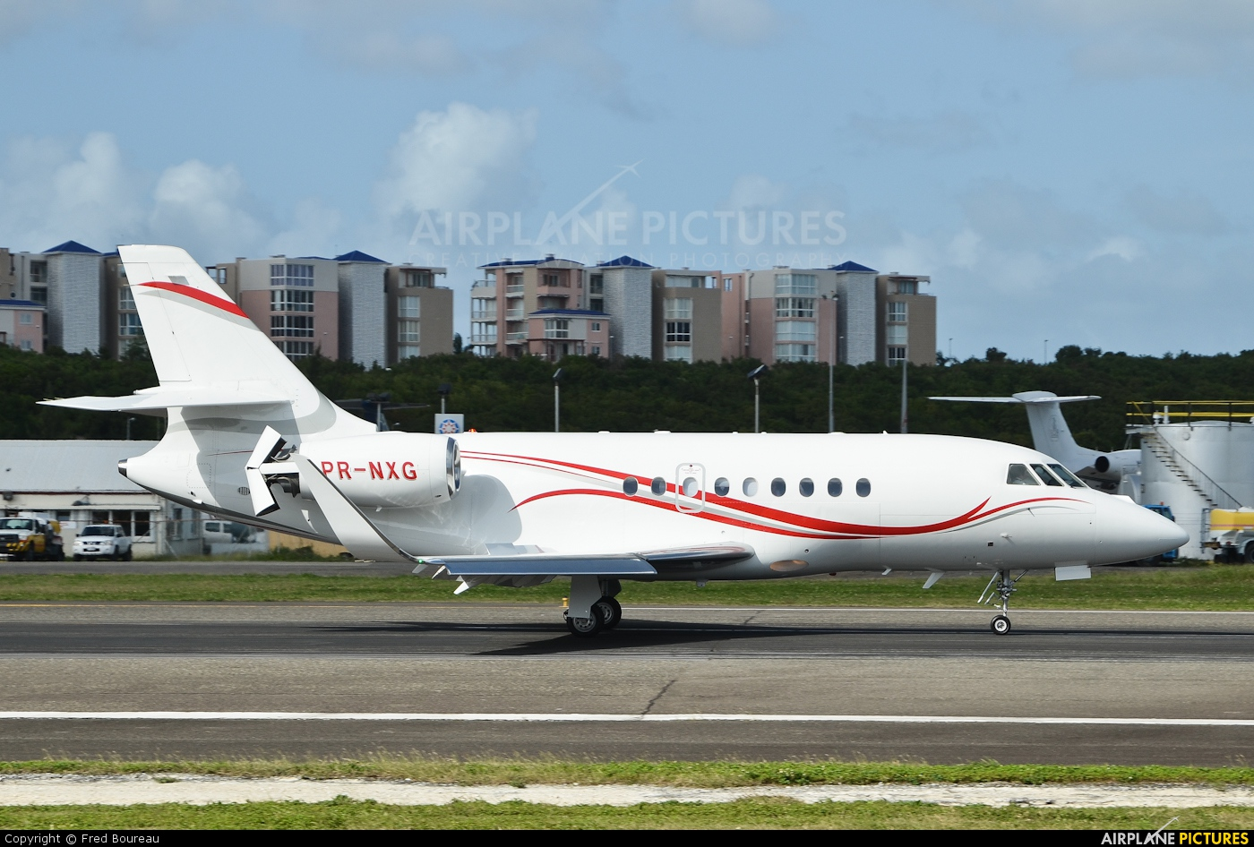 Private PR-NXG aircraft at Sint Maarten - Princess Juliana Intl