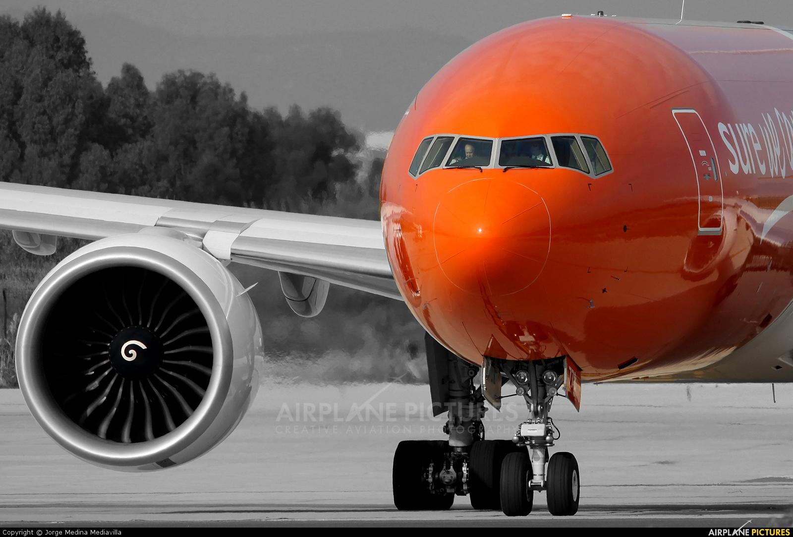 TNT N778SA aircraft at Barcelona - El Prat