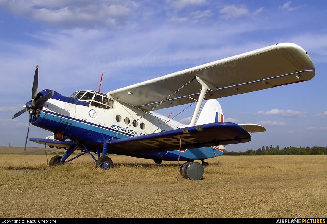 Romanian Airclub YR-PBF aircraft at Iasi-South