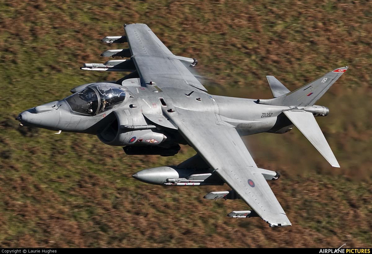 Royal Air Force ZD352 aircraft at Off Airport - Wales