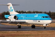 PH-KZN - KLM Cityhopper Fokker 70 aircraft