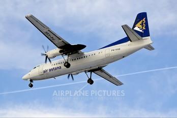 P4-KAS - Air Astana Fokker 50