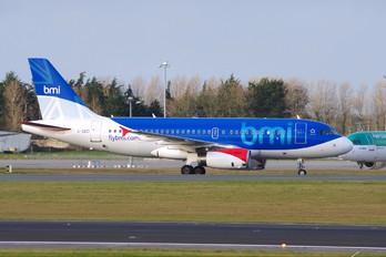 G-DBCI - BMI British Midland Airbus A319