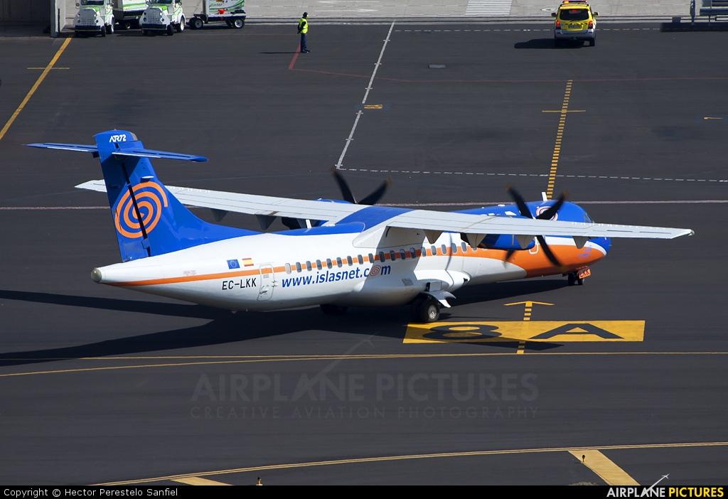 Islas Airways EC-LKK aircraft at Santa Cruz de La Palma