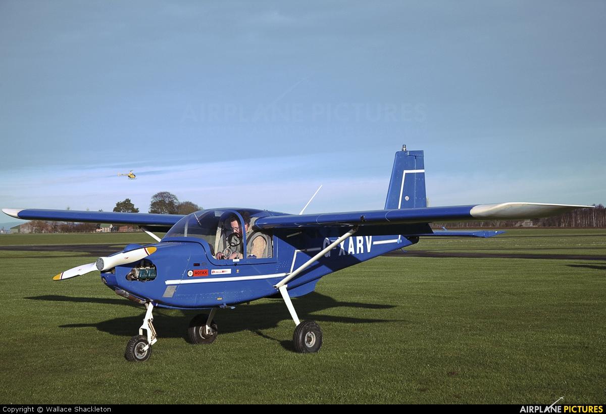 Private G-XARV aircraft at Perth - Scone