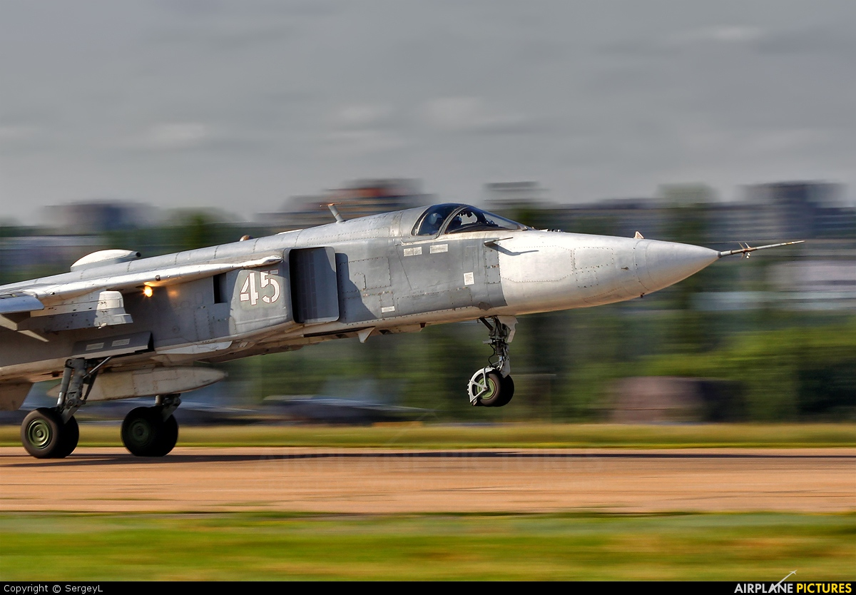 Russia - Air Force 45 aircraft at Undisclosed Location