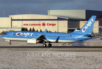 OO-JBG - CanJet Airlines Boeing 737-800