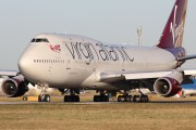 G-VROC - Virgin Atlantic Boeing 747-400 aircraft