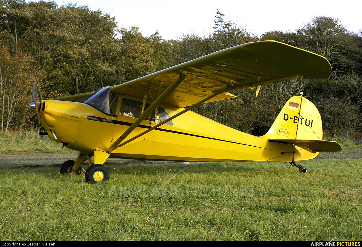 Private D-ETUI aircraft at Off Airport - Denmark