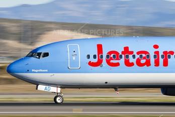 OO-JAD - Jetairfly (TUI Airlines Belgium) Boeing 737-800