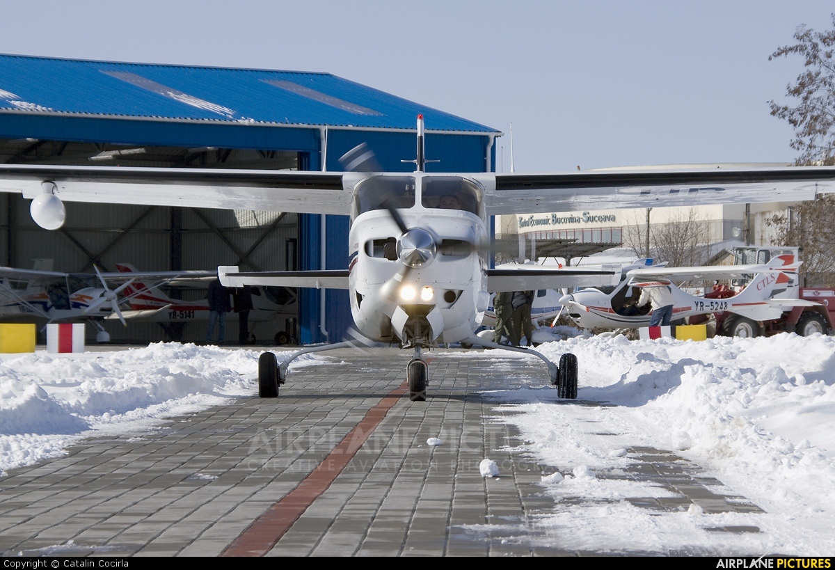Private HB-CYY aircraft at Suceava - Ştefan Cel Mare