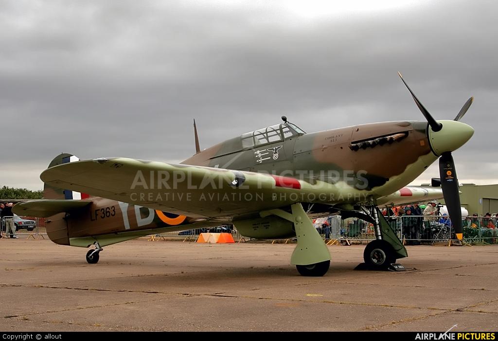 "Royal Air Force ""Battle of Britain Memorial Flight"" LF363 aircraft at Duxford"