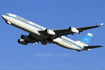 9K-ANA - Kuwait Airways Airbus A340-300