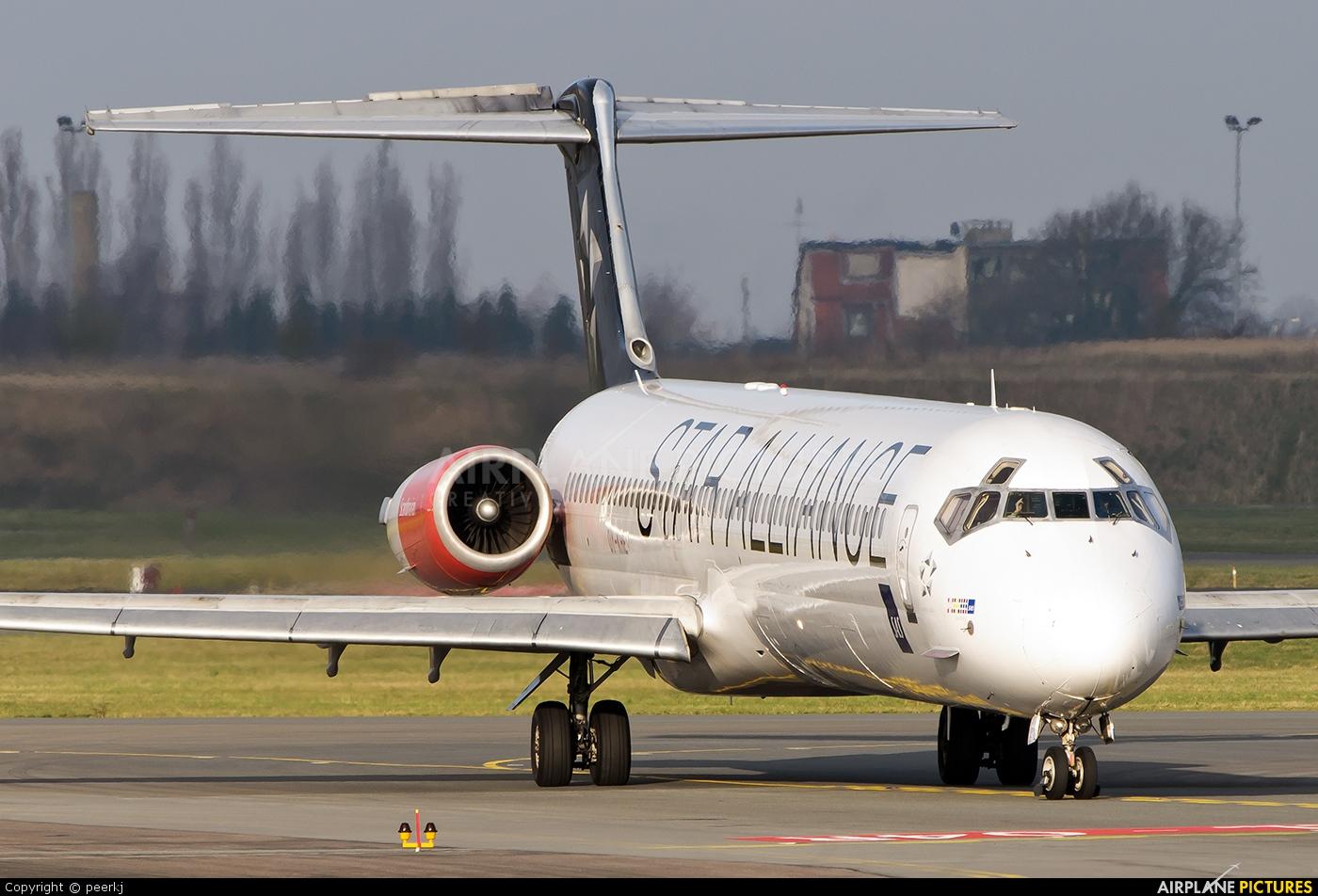 SAS - Scandinavian Airlines OY-KHE aircraft at Copenhagen Kastrup