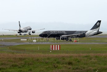 ZK-OJR - Air New Zealand Airbus A320