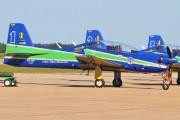 """1314 - Brazil - Air Force """"Esquadrilha da Fumaça"""" Embraer EMB-312 Tucano T-27 aircraft"""