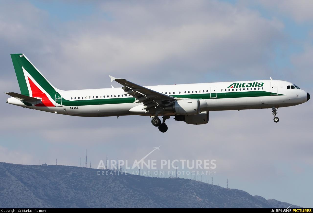 Alitalia EI-IXB aircraft at Athens - Eleftherios Venizelos