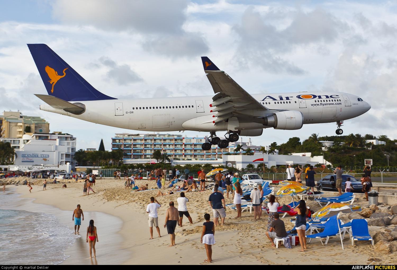 Air One EI-DIR aircraft at Sint Maarten - Princess Juliana Intl
