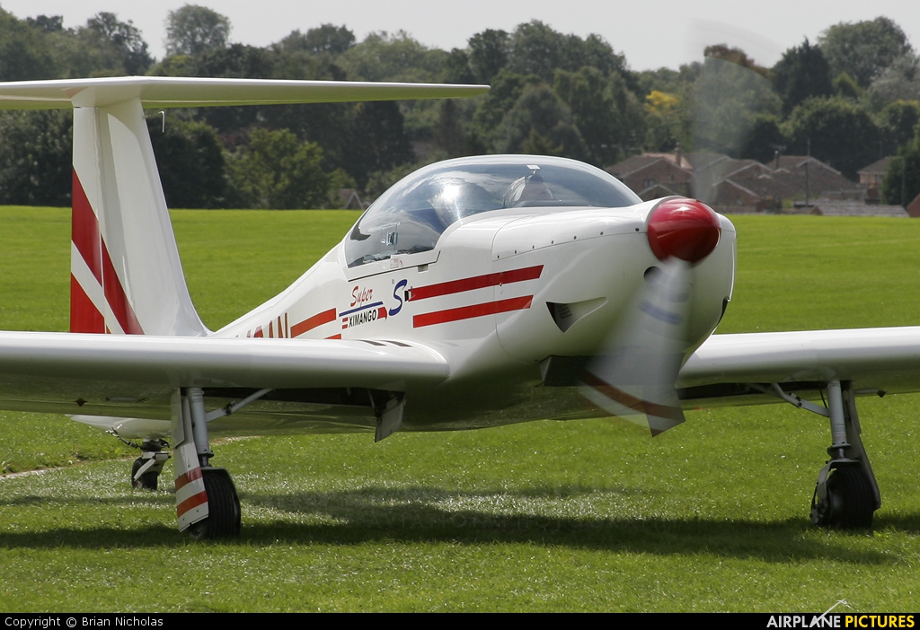 Private G-MOAN aircraft at Northampton / Sywell