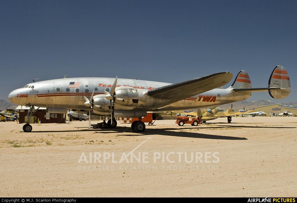 TWA N90831 aircraft at Tucson - Pima Air & Space Museum