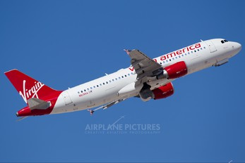 N838VA - Virgin America Airbus A320