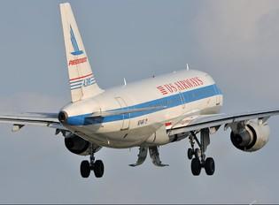 N744P - US Airways Airbus A319