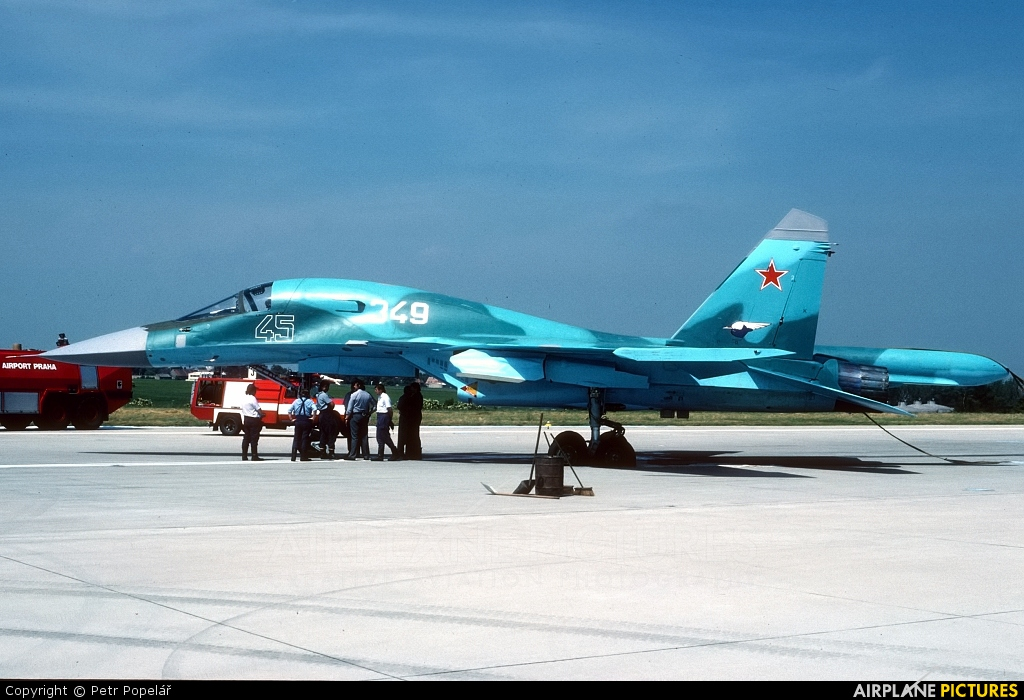 Russia - Air Force 45 aircraft at Prague - Václav Havel