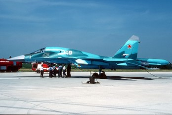 45 - Russia - Air Force Sukhoi Su-34