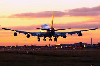 G-BYGA - British Airways Boeing 747-400