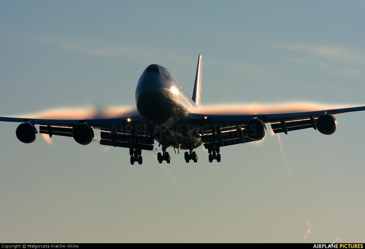 Virgin Atlantic G-VROC aircraft at London - Heathrow