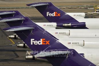 N281FE - FedEx Federal Express Boeing 727-200F