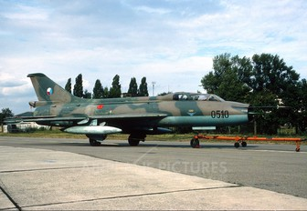 0510 - Czechoslovak - Air Force Sukhoi Su-7U