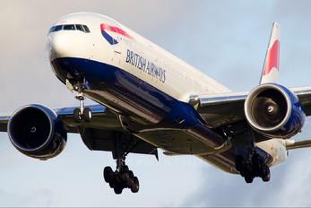 G-STBE - British Airways Boeing 777-300ER