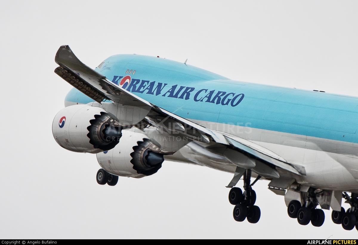 Korean Air Cargo HL7609 aircraft at Anchorage - Ted Stevens Intl / Kulis Air National Guard Base