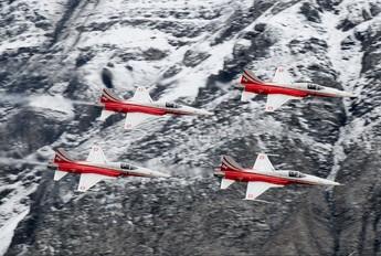 J-3085 - Switzerland - Air Force:  Patrouille de Suisse Northrop F-5E Tiger II