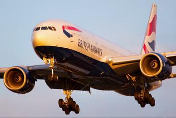 G-YMMN - British Airways Boeing 777-200