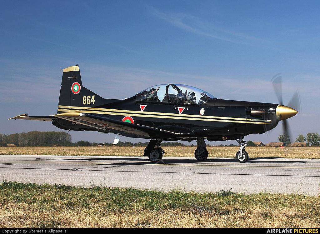 Bulgaria - Air Force 664 aircraft at Graf Ignatievo
