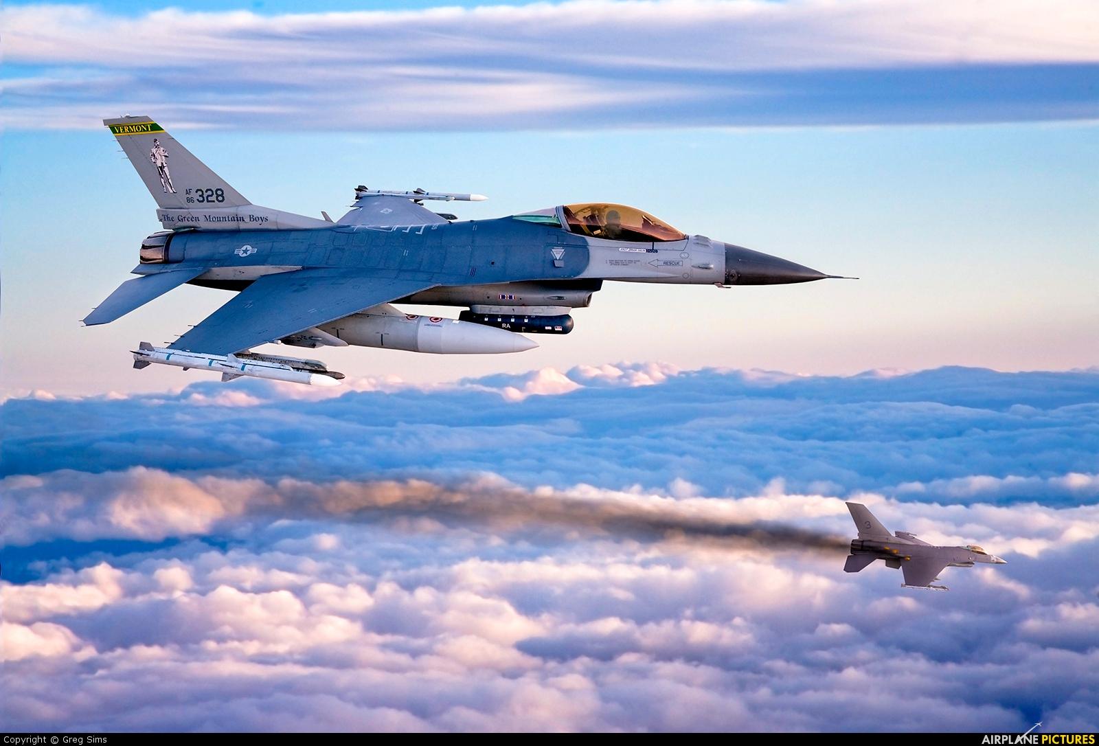 USA - Air National Guard - aircraft at In Flight - Idaho