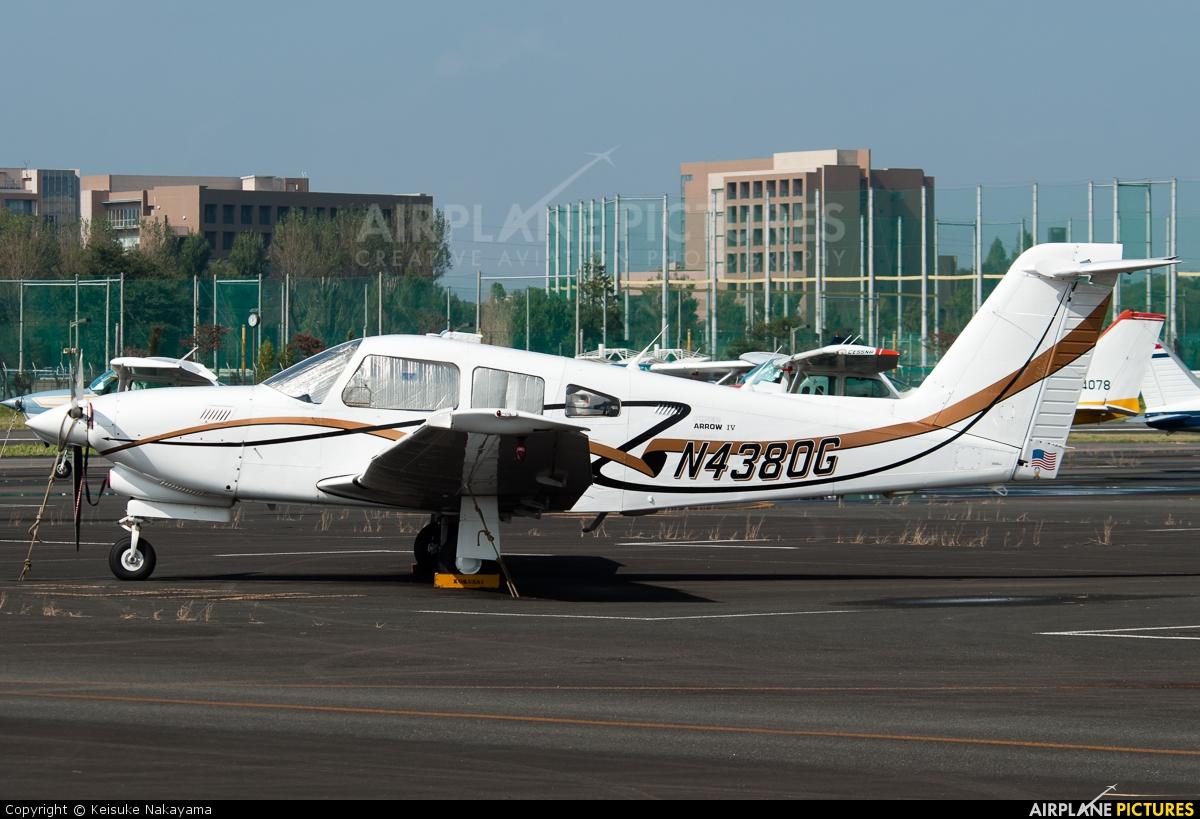 Private N4380G aircraft at Chofu
