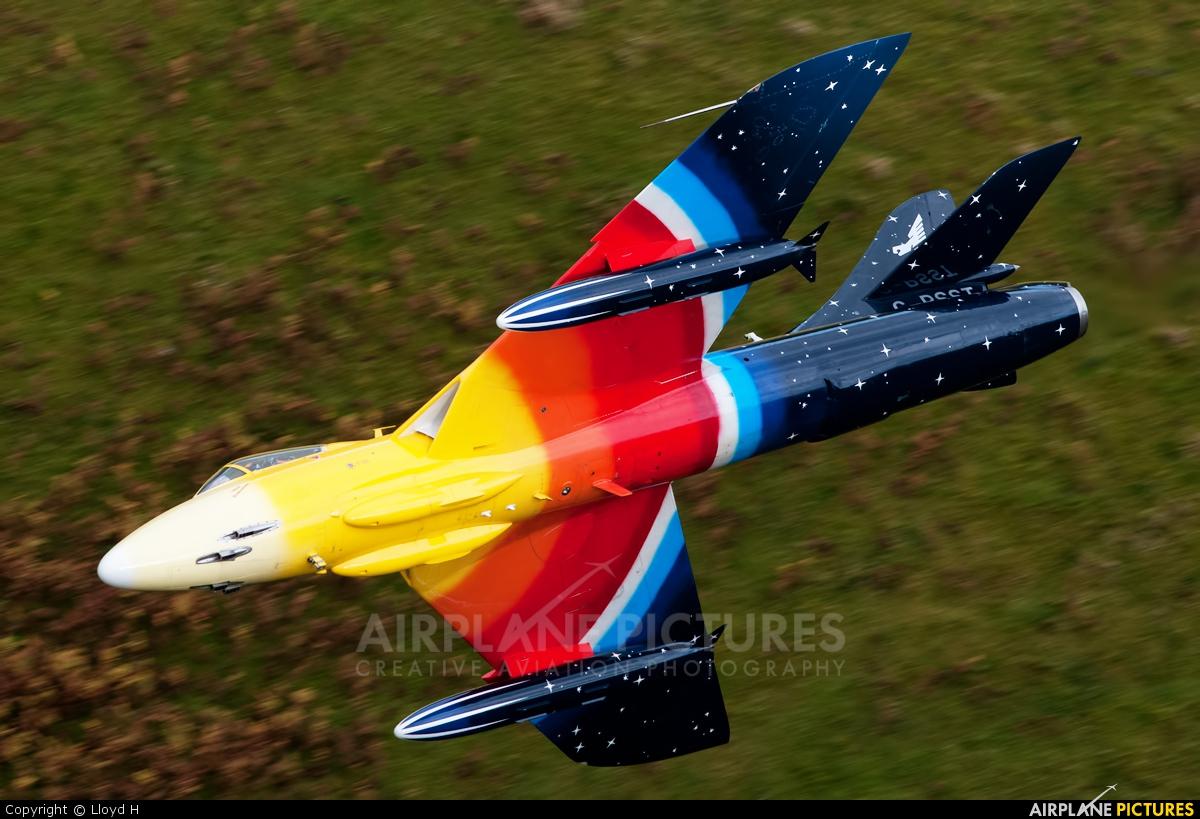 Heritage Aviation Developments G-PSST aircraft at Machynlleth LFA7