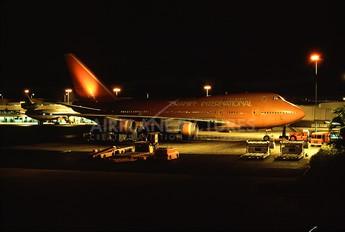 N606BN - Braniff International Boeing 747SP